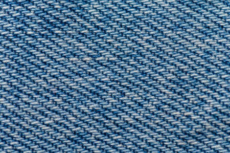 Jeans close up background. Denim stitching