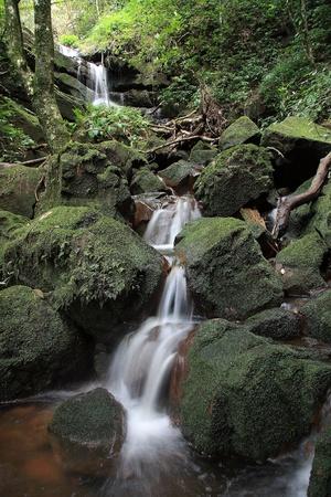 rill: Waterfall at Pusoidao Nation Park, Uttaradith, Thailand