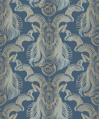Repaint seamless pattern, blue background 向量圖像
