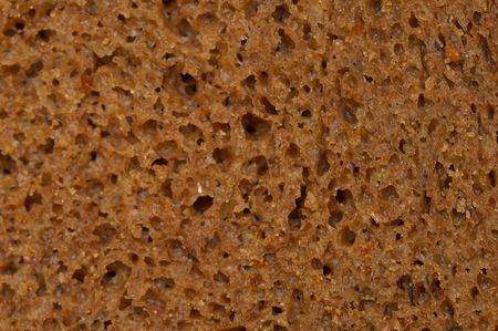 detailed shot: Rye black bread texture macro detailed shot (shallow depth of field)
