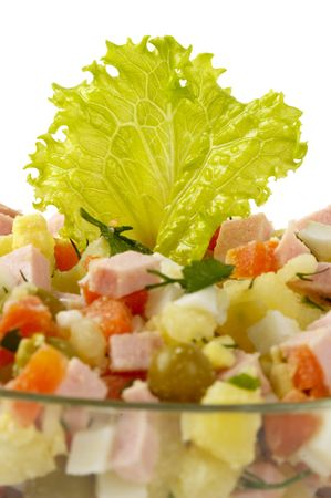 huzarensalade: Russische salade)