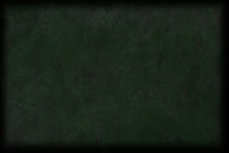 worn out scratched dirty green empty chalkboard