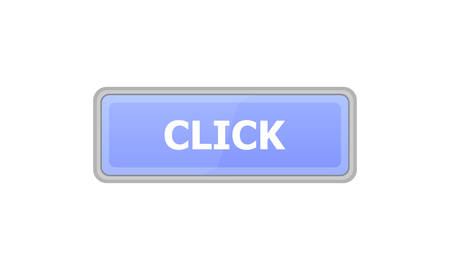 Button blue on a white background. It says Click