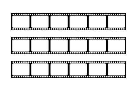 Three videotapes of the same size are arranged side by side in a white background.