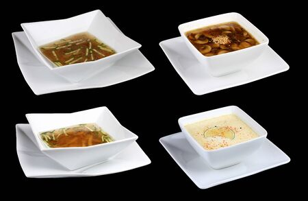 Set soups Chinese cuisine