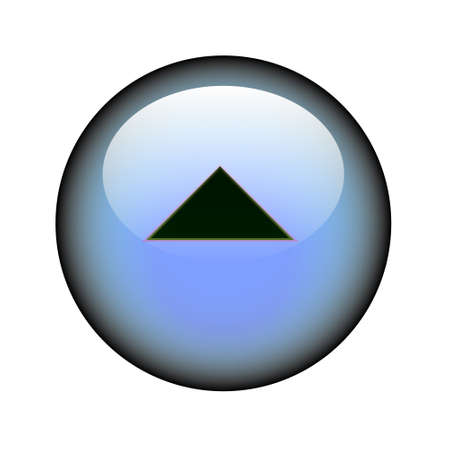 follow icon: A circular arrow up web button.