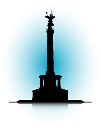 An abstract illustration of the Victory Column