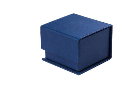 jewerly: Present box for jewerly on white background