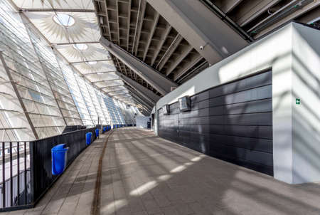 olimpiyskiy: the Olimpiyskiy stadium internal spaces