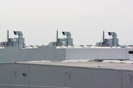 roofing system: The Ventilation system on a plant