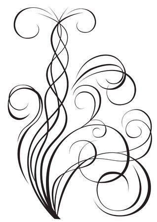 show plant: vector graphic silhouettes of plant design theme. file saved in eps format for the show 8yu easily edited.