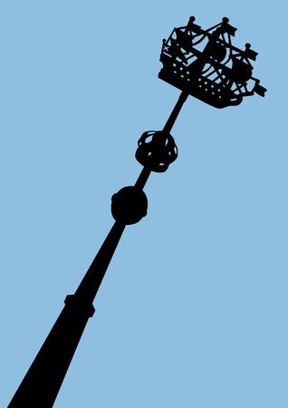 st  petersburg: image of  ship on steeple in St. Petersburg Illustration