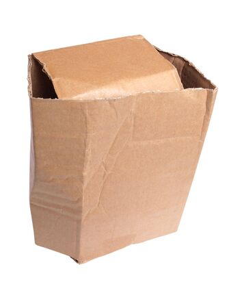 Color photo of an old cardboard box Stock Photo - 7530832