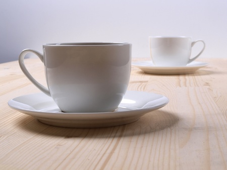 white cups Stock Photo - 8865059
