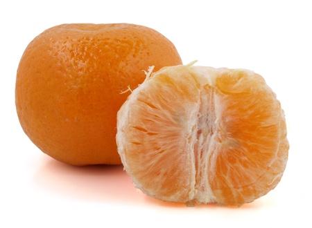 Color photograph of sliced pieces mandarin oranges     Stock Photo - 9074510