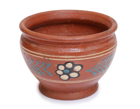 Color photo of an old ceramic pot Stock Photo - 10025592