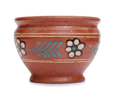 Color photo of an old ceramic pot Stock Photo - 10025612