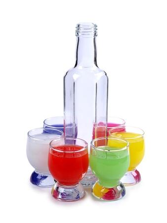 Fotograf�a en color de una Copa de cristal con tequila       Foto de archivo - 10513856
