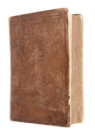 guide book: Color cover photo of antique bibles