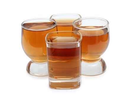 Color photograph of glasses of whiskey Stock Photo - 13318367