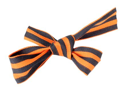 Color photo of St. George ribbon Stock Photo - 15424606