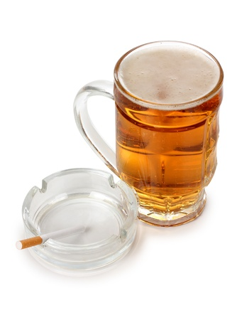 Color photo of a large beer mugs Stock Photo - 17142359