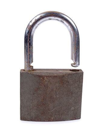 Color photo of an old metal lock         Stock Photo - 17222190