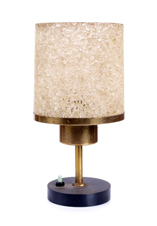 Color photo of an old table lamp         Stock Photo - 17222179