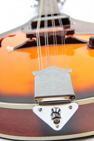 mandolino: Foto a colori di un mandolino in stile country