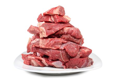 Color photo of fresh raw meat Stock Photo - 19500590