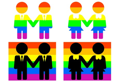 homosexual: Symbols and flags of homosexual culture