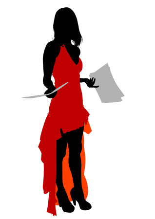 beauty women: Mujeres de la belleza en vestido de moda rojo