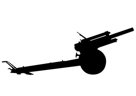 Most gun battle on a white background