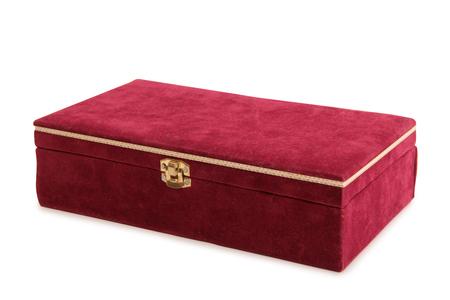 Vintage boîte peinte sur un fond blanc Banque d'images - 62775164
