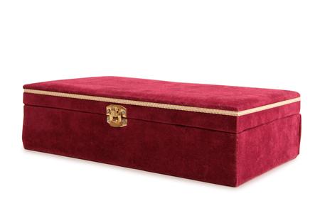 Vintage boîte peinte sur un fond blanc Banque d'images - 62775165
