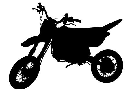 Motorfiets pictogram.