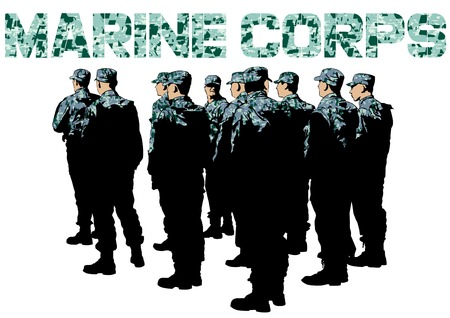 Build a soldier in uniform on white background 版權商用圖片 - 93809475