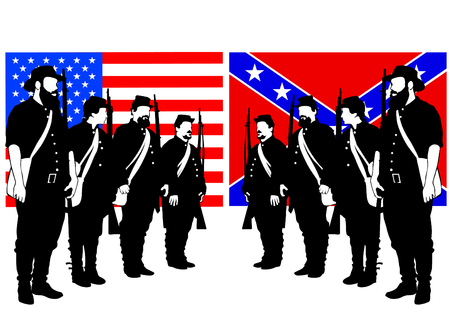 American soldiers in uniform