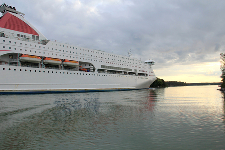 Large cruise liner