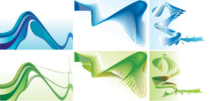 Abstract Backgrounds.   Illustration.