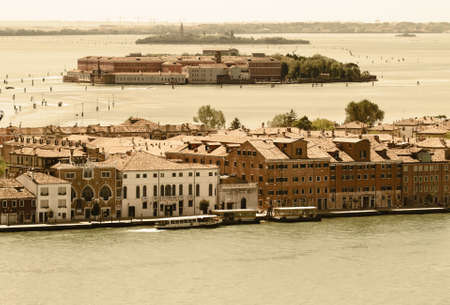 Venice  View from the bird Stock Photo - 13759588