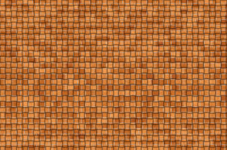 twisted woven leaves brown  Straight lines, close-up Stock Photo - 13896120