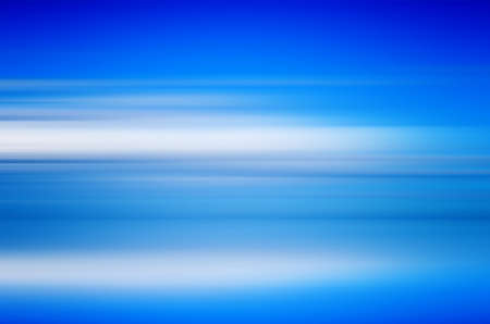 Abstract Horizontal Lines. Image in blue and white colors