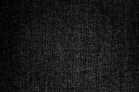 Black fabric texture background. Detail of canvas textile material. Standard-Bild