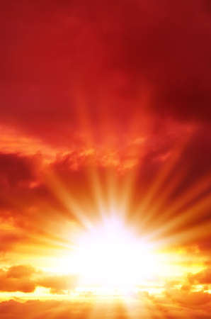 rays of light Standard-Bild