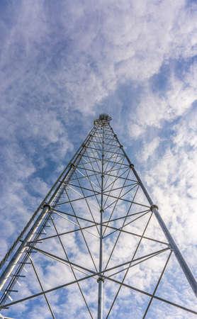 stell: communications tower Stock Photo