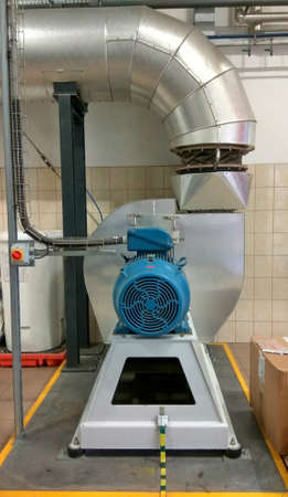 electrical fan Centrifugal fan fr exhoust gas