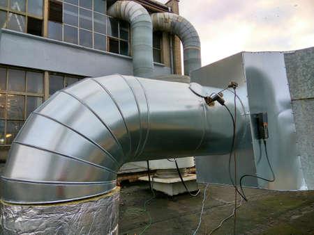 emission measurements on duct