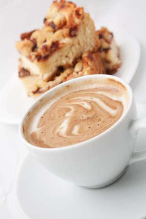 szarlotka: Szarlotka z kawą Zdjęcie Seryjne