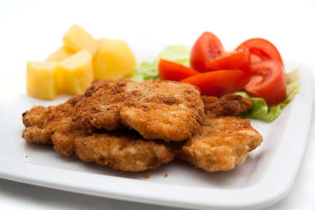 karaj: Pork Chop - Dinner Stock fotó